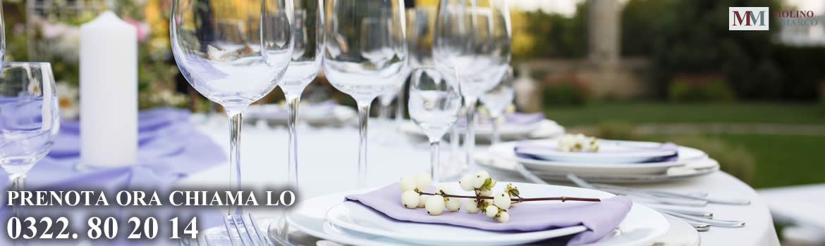Catering per matrimoni, eventi e ricorrenze
